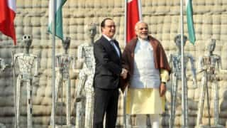 Indo-French Business Summit: Narendra Modi pitches strong to CEOs accompanying Francois Hollande