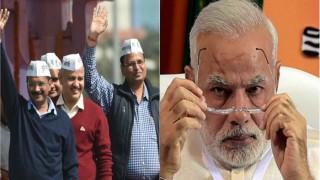 'मोदी जी ने नोटबंदी के नाम पर एक ही शॉट में 8 लाख करोड़ रुपए का घोटाला कर दिया': अरविंद केजरीवाल