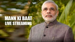 Live Streaming of Narendra Modi Mann Ki Baat: Listen to PM speech live on All India Radio (AIR) at 11 am IST