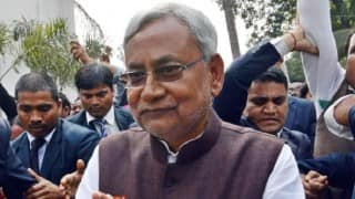 Total prohibition decision dedicated to Mahatma Gandhi: Nitish Kumar