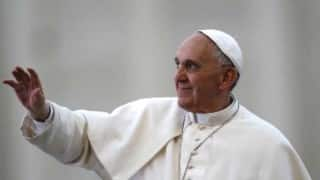 Pope Francis prays for Michael Schumacher's quick recovery