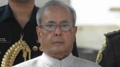 Pranab Mukherjee for more policy initiatives to boost services sector