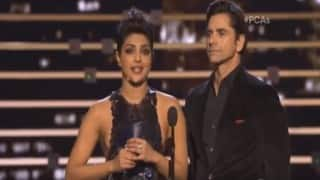 People's Choice Awards 2016: Priyanka Chopra thanks Americans for accepting her; John Stamos cuts her short! (Video)