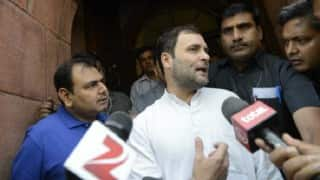 Rahul Gandhi holds talks on UP assembly polls