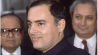 AIADMK, Congress spar over Tamil Nadu government's move on Rajiv Gandhi case