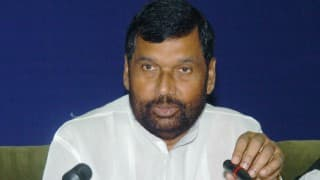 Dalit Student suicide: Ram Vilas Paswan charges opposition with playing petty politics