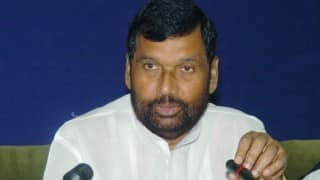 Ram Vilas Paswan charges the opposition parties with indulging in