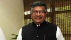 India in touch with foreign Governments on cyber security: Ravi Shankar Prasad
