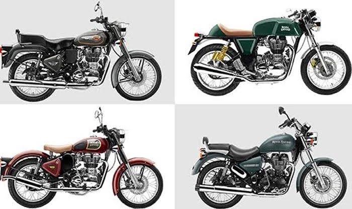 Royal Enfield Introduces Nine New Colours