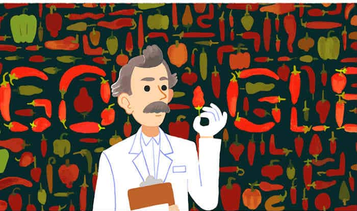 Google spices things up to honor Scoville scale