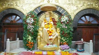 Shirdi Saibaba Temple Receives Donations Worth Rs 14.54 cr