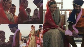Sanaya Irani and Mohit Sehgal married! See wedding and reception pictures!