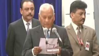 Uttar Pradesh Lokayukta row ends: Justice Sanjay Mishra takes oath settling conflict between state government and judiciary