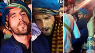 Watch Ranveer Singh's peppiest Ainvayi Ainvayi dance moves at friend's wedding