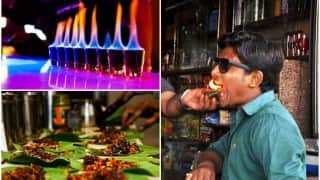 Forget Flaming Shots, have you tried the mouth freshener Flaming Paan yet?