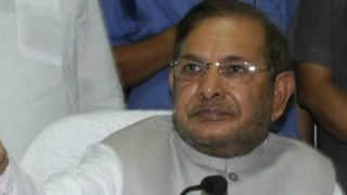 Sharad Yadav to Embark on Mass Connection Drive in Bihar, Says People's Trust Has Been Broken