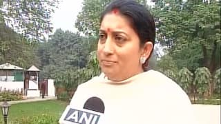 Smriti Irani to visit Amethi on May 26