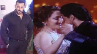 61st Britannia Filmfare Awards 2016: Salman Khan performs with kids and Shah Rukh Khan grooves with Madhuri Dixit Nene