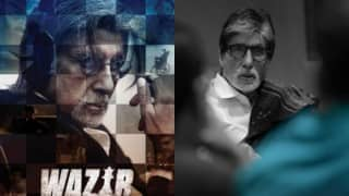 Wazir star Amitabh Bachchan says 'writer' is the best actor in the film