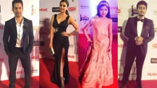 61st Britannia Filmfare Awards 2016: Varun Dhawan, Parineeti Chopra, Harshaali Malhotra, Arjun Kapoor and more celebs arrive on red carpet