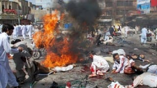 Suicide bomber kills 13 in eastern Afghan city