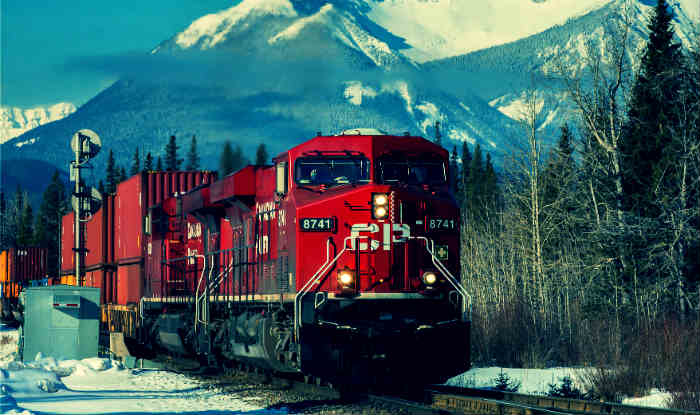 Canadian Pacific Railway profits and revenue highest in its history