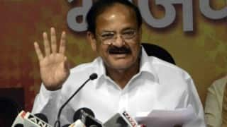 Congress has no moral right to criticise NDA government on price-rise: M Venkaiah Naidu