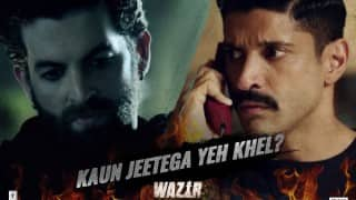 Farhan Akhtar, Amitabh Bachchan Team up in Action-Packed 'Wazir'