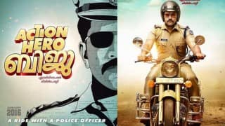 Forget Singham, Nivin Pauly looks flamboyant as a tough cop in Action Hero Biju!