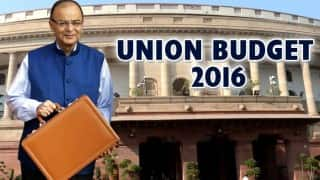 Live Union Budget 2016: Arun Jaitley's boost for Make in India; announces 100% FDI in marketing of food products made in India