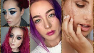 After glitter beards & sparkly armpits, glitter freckles are the next big beauty trend!