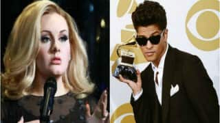 Adele feels Bruno Mars will become the 'biggest artist'