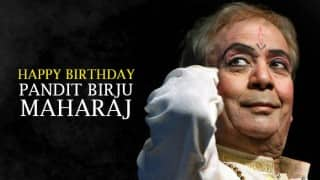 Happy Birthday Pandit Birju Maharaj: Top 4 Bollywood dances choreographed by the Kathak guru
