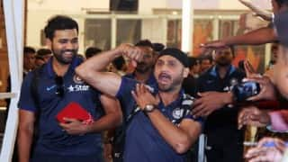 Check how MS Dhoni and the Indian Cricket Team let their hair down in Ranchi