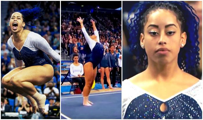 floor gymnastics moves. UCLA Gymnast Sophina DeJesus Slays With Amazing Hip Hop Moves During Floor Routine! Gymnastics
