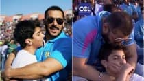Salman Khan bonds with nephew Nirvan at Celebrity Cricket League 2016 (Video)