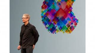 Apple CEO Tim Cook in China hails Chinese app developers