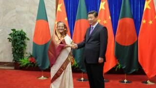 Bangladeshi PM Sheikh Hasina Meets Chinese President Xi Jinping in Beijing
