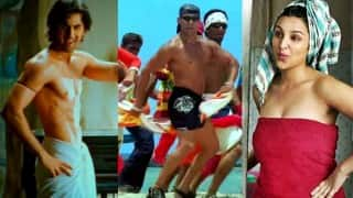 Ranbir Kapoor, Parineeti Chopra, Salman Khan: 7 times Bollywood actors nailed 'Towel Dance'!