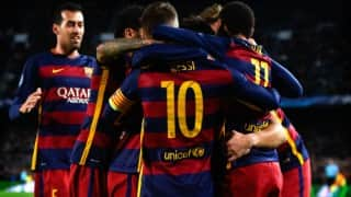 BARCA beat ARS 2-0   Barcelona vs Arsenal, UEFA Champions League 2015-16 Live Updates and Score