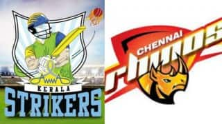 Watch Free Live Streaming and Telecast of Chennai Rhinos vs Kerala Strikers Celebrity Cricket League (CCL) 6
