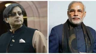Shashi Tharoor's jibe at Narendra Modi is more to please Congress high command