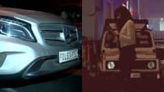 Drunk woman crashes into bike, misbehaves with police in Delhi (Video)