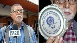#AwardWapsi: Former JNU professor Chaman Lal returns 'Hinditar Bhashi Hindi Lekhak Puraskar' to HRD Ministry