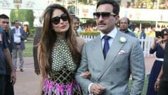 Kareena Kapoor Khan and Saif Ali Khan look smoking hot at the Kingfisher Ultra Indian Derby 2016