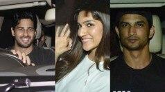 Fitoor: Sidharth Malhotra, Kriti Sanon, Sushant Singh Rajput spotted at the screening of Katrina Kaif starrer