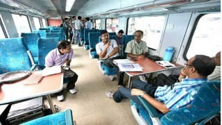 Mission 'Raftar' takes off with the launch of 'Gatiman Express': Suresh Prabhu