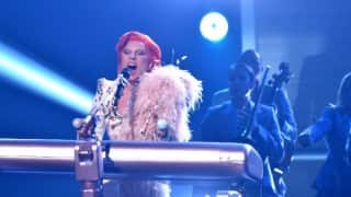 Lady Gaga gives a stunning tribute to David Bowie at Grammys