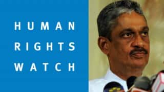 Human Rights Watch questions Sri Lanka on sending ex-army chief to parliament