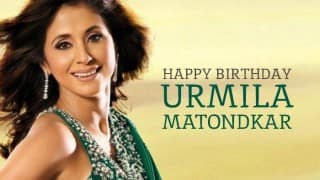 Happy Birthday Urmila Matondkar: 8 times the gorgeous actress wooed us with her dancing skills!